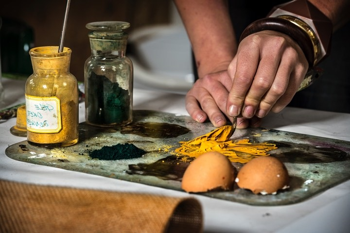 SUMMER MASTERCLASSES 3: Workshop paint making with natural pigments